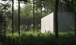 Rendering unveiled for a new Richard Serra sculpture building at the Glenstone Museum in Maryland