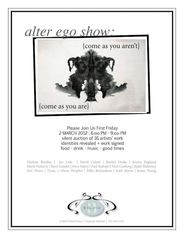 Poater: Alter Ego Show (alternate)
