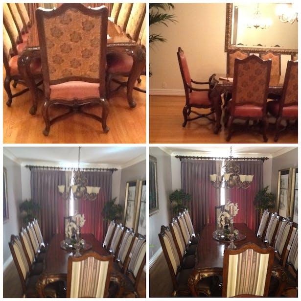 Transformation of Dining Room