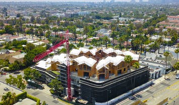 MAD's quirky Beverly Hills 'Gardenhouse' tops out