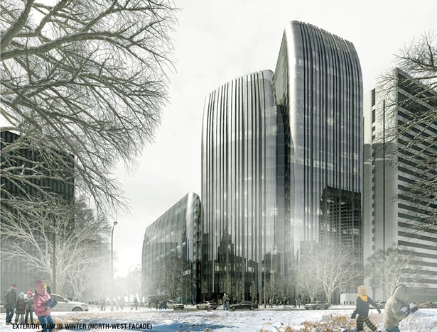 Jilin Financial Centre Photo Rendering