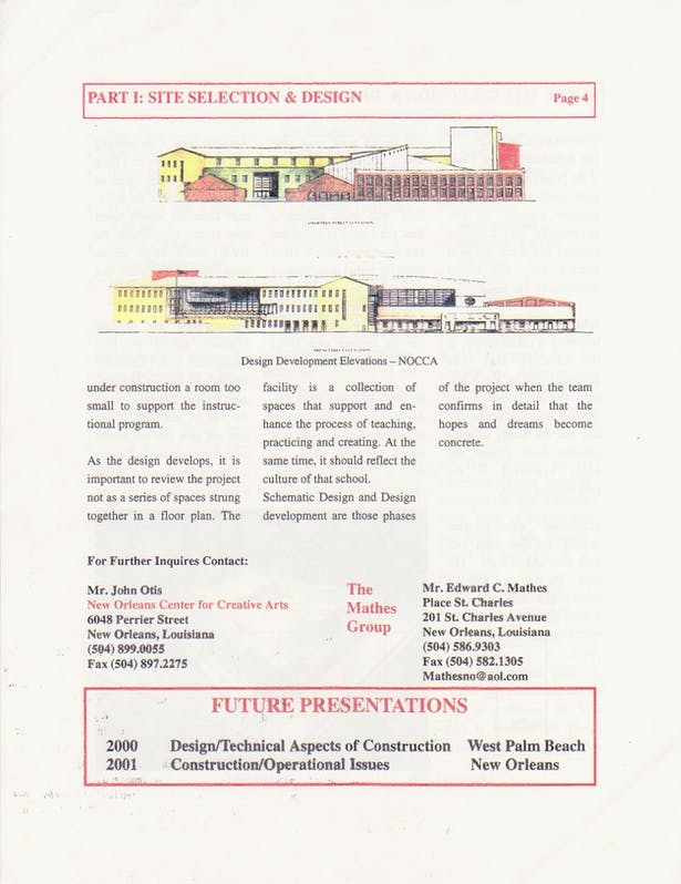 Site Selection Seminar Page 4