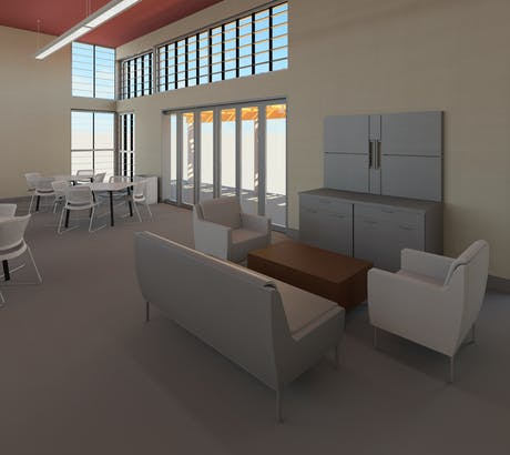 Conceptual Furniture Layout