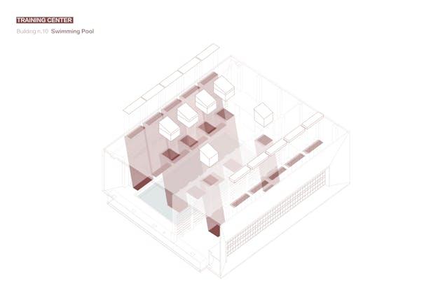 Swimming Pool Skylight Diagram Credits: West-line Studio