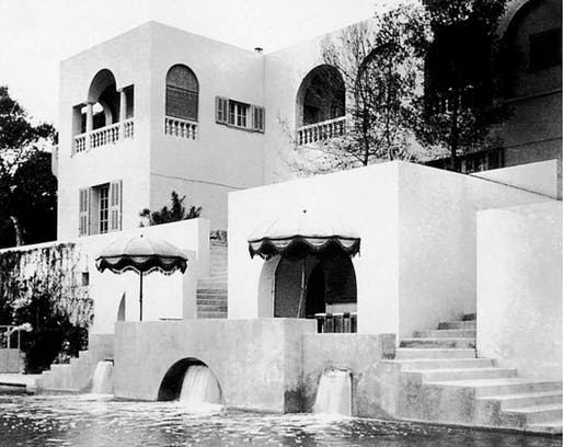 "The Château de l'Horizon, built for Maxine Elliott between Cannes and Antibes. Credit From ""The Riviera Set"""