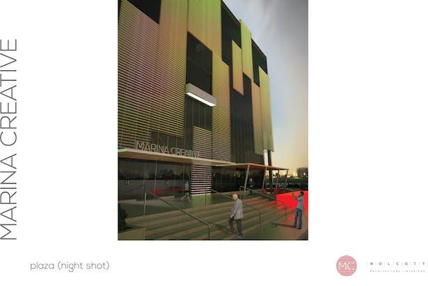 Exterior rendering from Revit