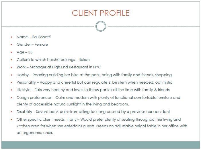 interior design client profile all informations you needs rh saperstones com how to write an interior design client profile how to write an interior design client profile