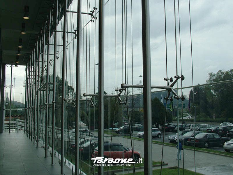 Spider Glass Curtain Wall Faraone Srl Archinect