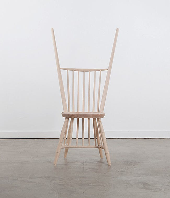 Rod-Back Side Chair. Photo courtesy of Volume Gallery.