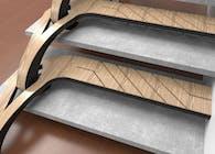Braided stair