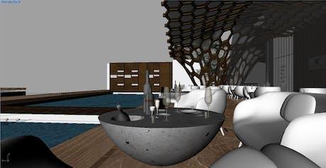 Proposed Roof top restaurant, Mumbai, India