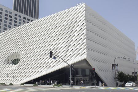 View of Lobby Entry at The Broad. Photo taken by Patrick Geske, 2019