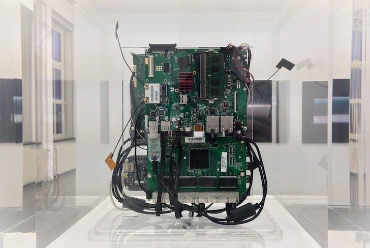 Trevor Paglen, Jacob Appelbaum Autonomy Cube Tor network Relay & Hotspot