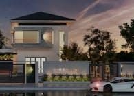 Mini modern villa - Biet thu dep