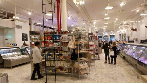 View of the Dean & DeLuca store in New York City. Image courtesy of Wikimedia user Jess Hawsor.