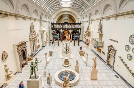 Like most museums around the world, the impressive Medieval and Renaissance Galleries at the V&A in London are currently closed to contain the spread of COVID-19. Photo: Wikimedia Commons user BRENAC/CC-BY-SA-3.0.