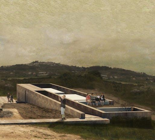 1st Prize: ENCLOSING LANDSCAPE by Ana Bruto da Costa, Joana Gonçalves, João Moreira
