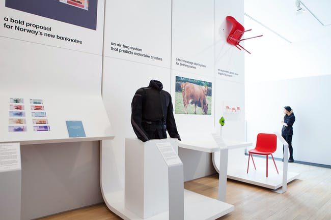 Designs of the Year 2015 exhibition will be at the Design Museum until March 2016. Photo credit: Mirren Rosie.