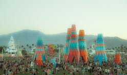 Francis Kéré, Office Kovacs and others unveil installations at Coachella