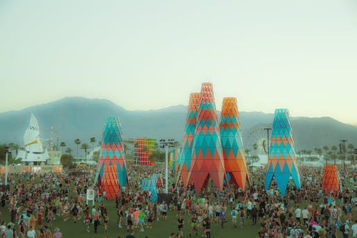 Sarbalé ke, designed by Francis Kéré. Courtesy of Coachella.