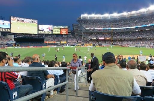 New York City Football Club currently plays at Yankee Stadium in the Bronx. Photo: Wikimedia Commons user goatling.