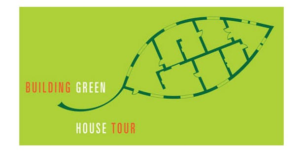 Sustainable Architecture House Tour Logo and Poster