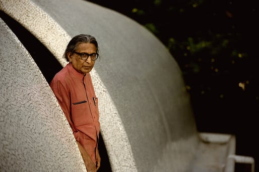 Balkrishna Doshi. Photo: Vinay Panjwani