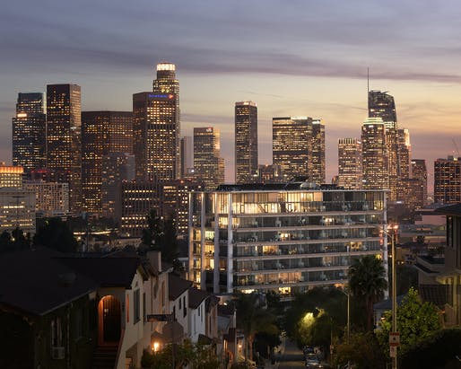 The Elysian (Los Angeles, CA) by David Lawrence Gray Architects, AIA. Photo: Douglas Olson, Geoff Captain