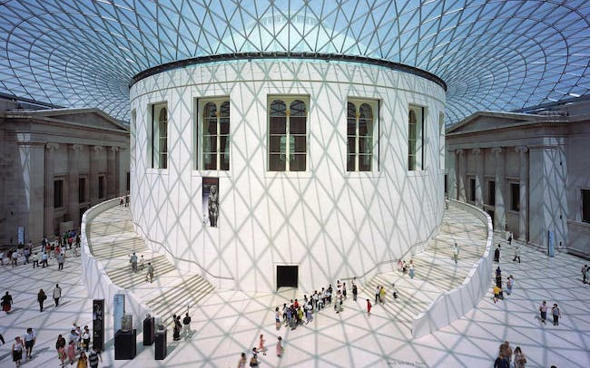 Th central reading room Image credit: Foster + Partners