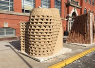NJIT Design/Build Masonry Competition Entry