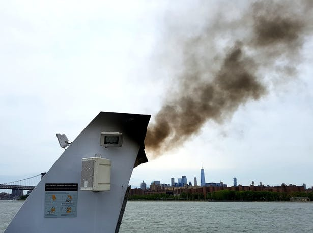 NYC New Ferries contribute to Climate Change