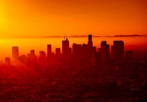 Air pollution levels worsened especially in California, in part due to increases in big and frequent wildfires. Photo: David Mark.