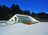 Early built greenhouses and other places in which to grow plants.