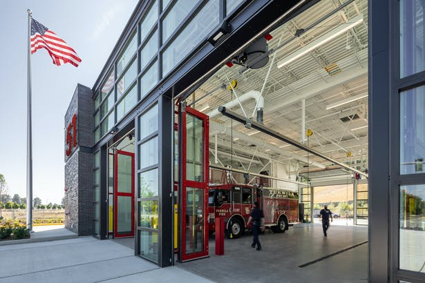 Tukwila Fire Station 51 (Photo: Andrew Nam for WAU)