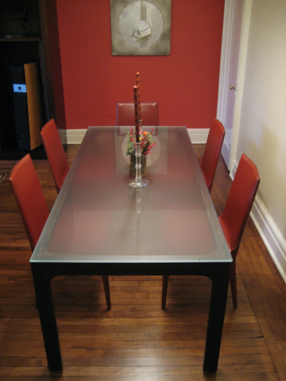 dining room table and coffee table