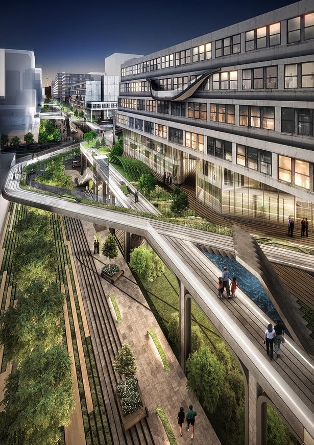 Lee Auto Mall >> Seun City Walk | Avoid Obvious Architects | Archinect