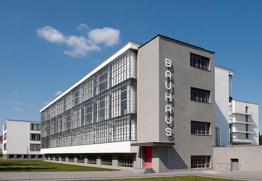 Main building of the Bauhaus in Dessau, less than two hours south of Berlin. Image: Bauhaus Dessau.