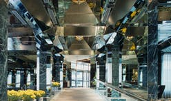 """Stop the unpermitted demolition"": Roche Dinkeloo's shiny UN Plaza Hotel lobby might be remodeled"