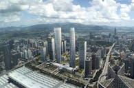 Huanggang Urban Development Initial Concept in Shenzhen