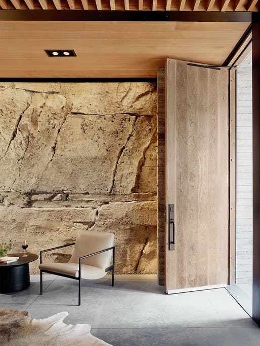 """<a href=""""https://archinect.com/firms/project/150138192/hill-country-wine-cave/150266304"""">Wine Cave</a> in Texas Hill Country by <a href=""""https://archinect.com/claytonkorte"""">Clayton Korte</a>; Photo: Casey Dunn"""