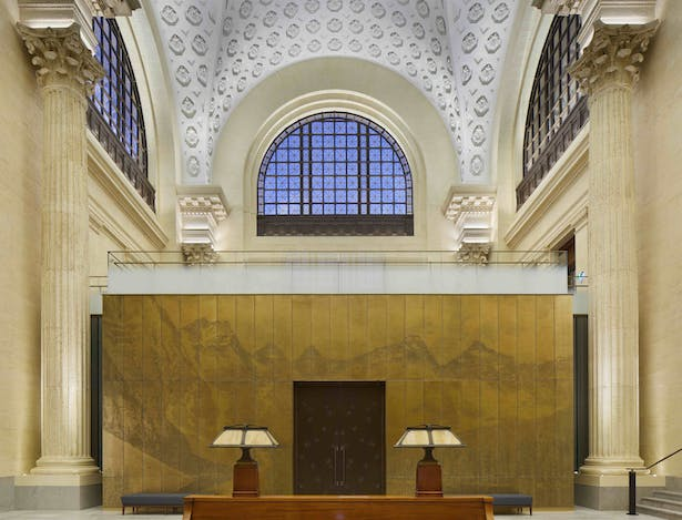 New committee room in former Grand Waiting Room of the Ottawa train station Tom Arban Photography