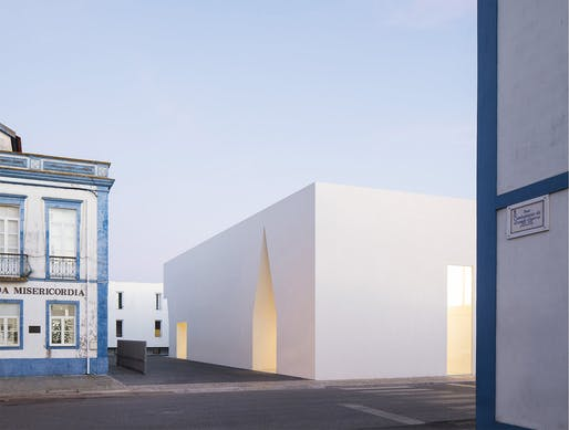 Meeting Centre in Grândola, Portugal by Aires Mateus; Photo: Nelson Garrido