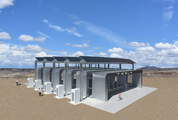 A new kind of prefabricated, modular, solar powered building system that is designed to be completely off the grid.