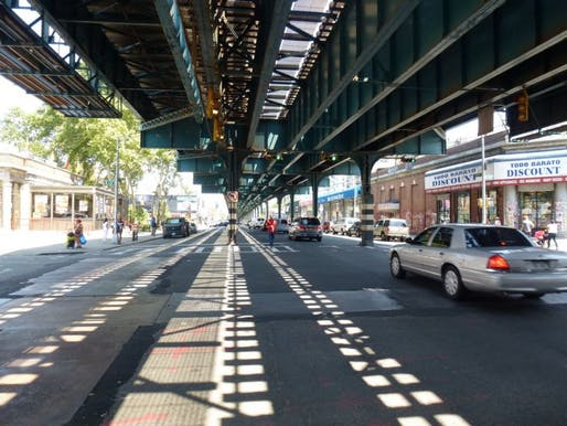 New York City's Department of City Planning thinks a section of the Bronx is ripe for development. (via nextcity.org; Photo by NYC Department of City Planning)