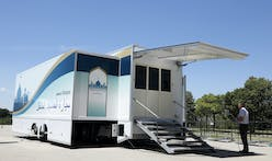 Japan designs mobile mosques for upcoming 2020 Olympics hospitality
