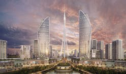 Work halted on world's next tallest tower, Calatrava-designed Dubai Creek Harbour Tower