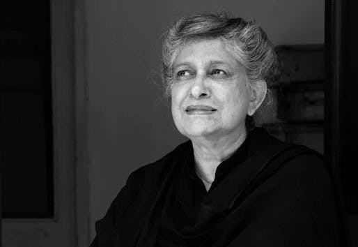 After graduating from Oxford School of Architecture in 1964, Yasmeen Lari started her own practice and became the first female architect in Pakistan. In 2015, she was among the participants of the Chicago Architecture Biennial in conjunction with the Heritage Foundation Pakistan. (Image via thenews.com.pk)