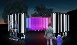 SOFTlab designs a mesmerizing public installation that pays homage to a classic lighthouse in Alexandria, Virginia