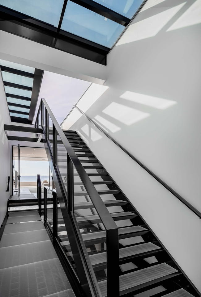 Another view of the staircase. Images courtesy of Matthew Momberger.