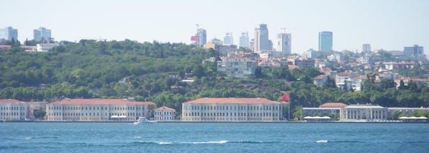General view across the Bosphorus
